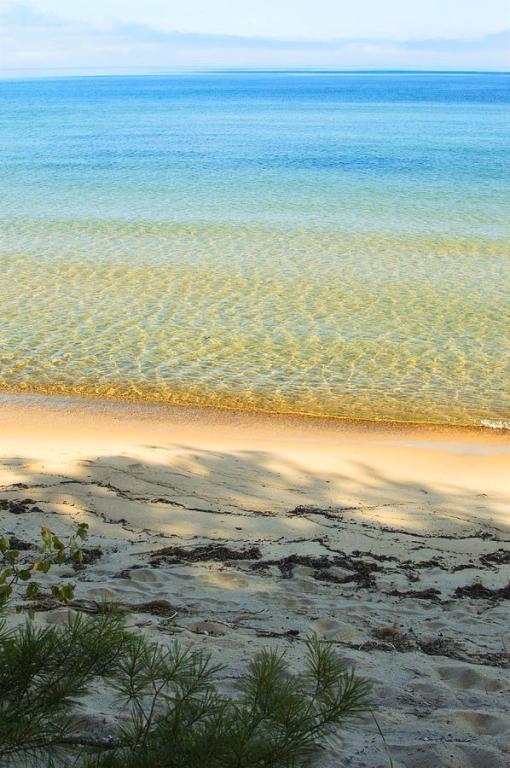Lake Superior Sandy Blue Art