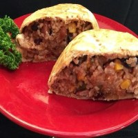 Southwestern Pastie with Coconut Oil