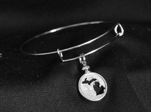 Michigan Dime Bracelet
