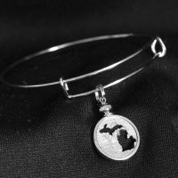Michigan Dime Bracelet