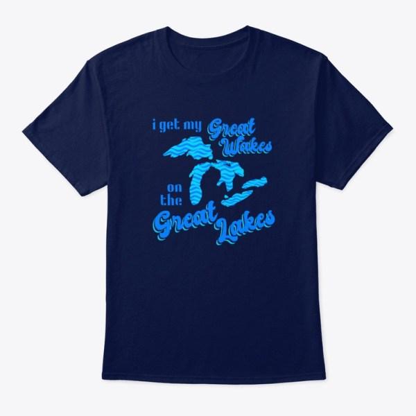 Great Wakes Great Lakes Tshirt