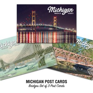 Michigan Bridges Postcards