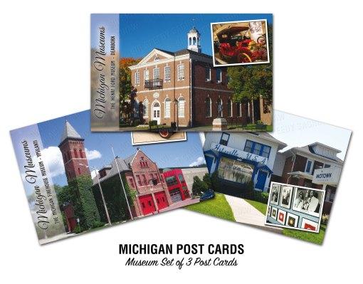 Michigan Museums Postcards