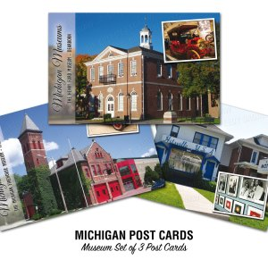 Michigan Museums Postcards