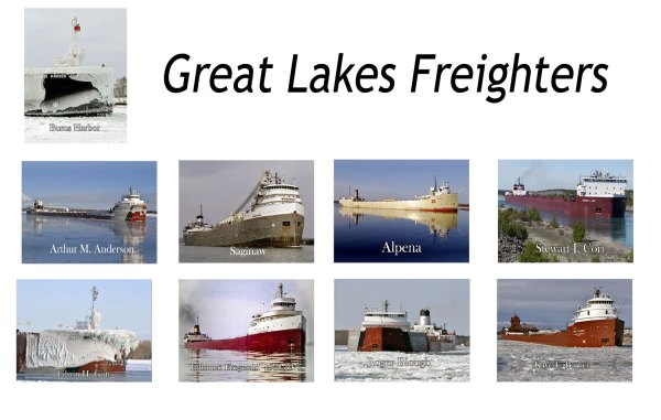 Great Lakes Freighters Magnets