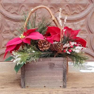 Christmas Centerpiece Poinsettia