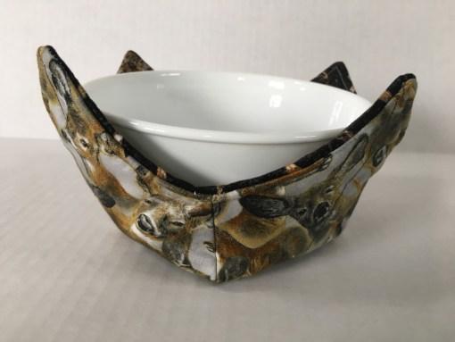 Deer Microwave Bowl Holder Cozy