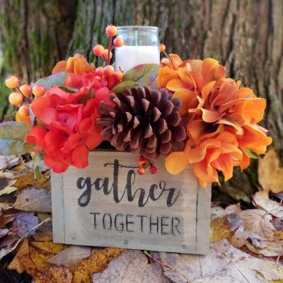 Gather Together Fall Centerpiece