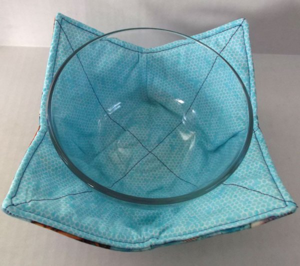 Fish Microwave Bowl Holder Cozy Hot Pad