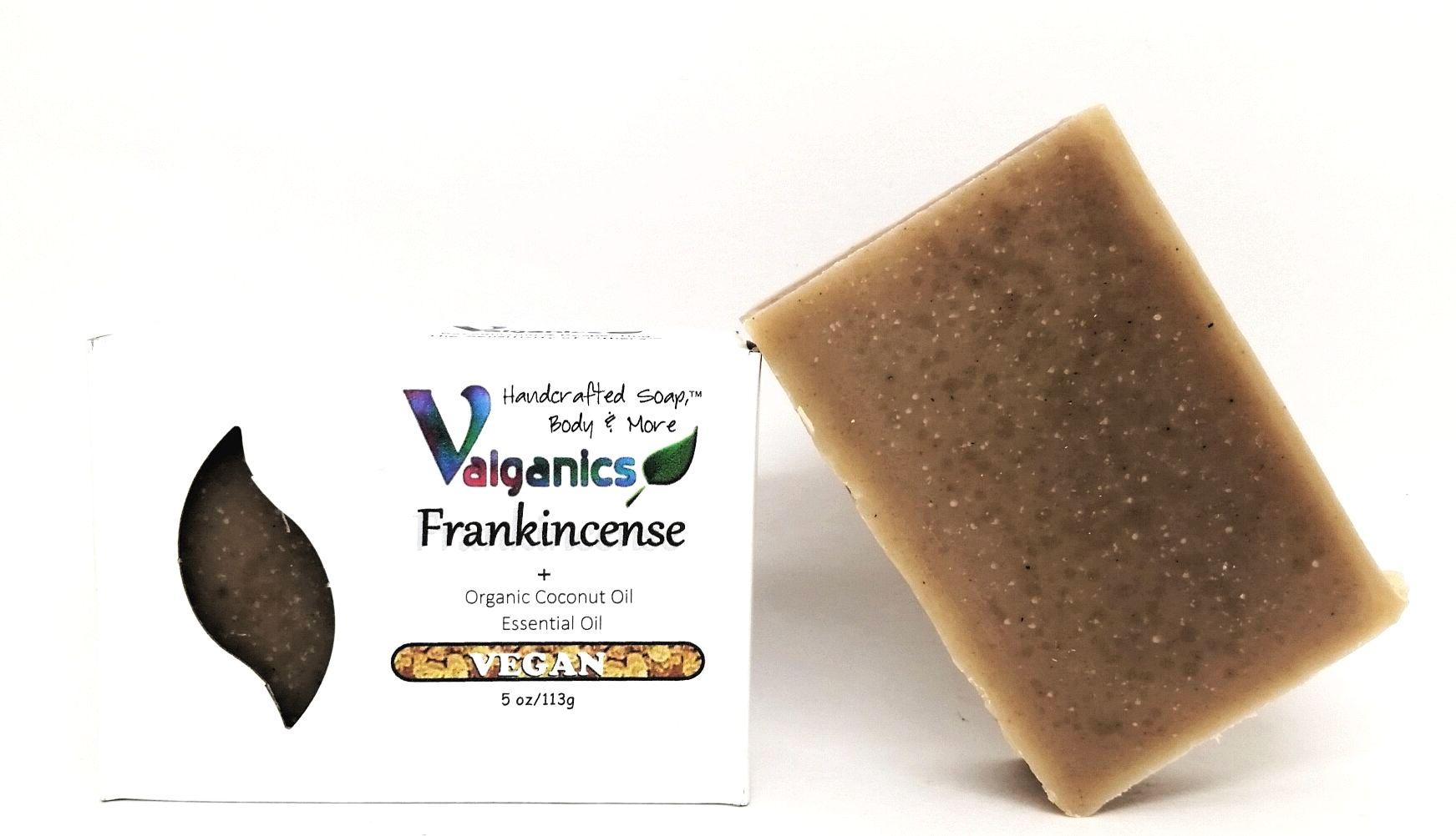 Frankincense Essential Oil Vegan Soap