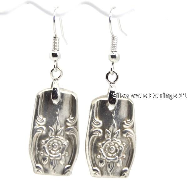 Vintage Silverware Earrings