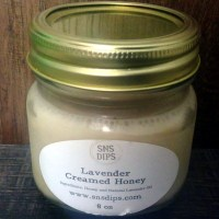 Lavender Creamed Honey