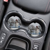 Lighthouse Car Coaster Set