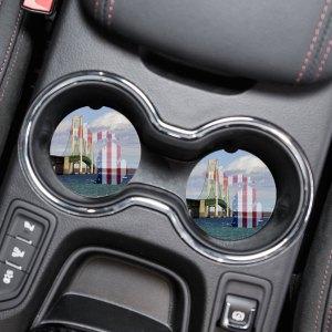 Michigan Car Coaster Set
