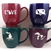 Michigan Mugs Speckled