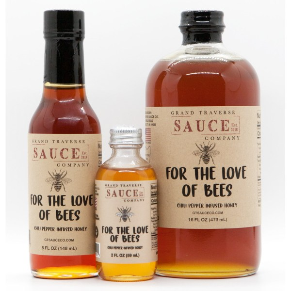 For The Love Of Bees Honey Sauce