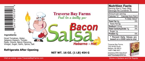 Bacon Salsa Ingredients