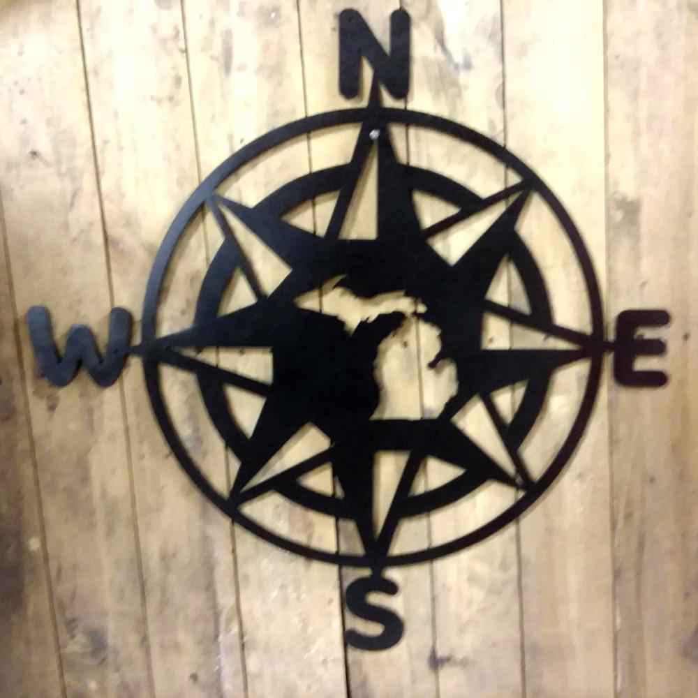 Michigan Compass Black