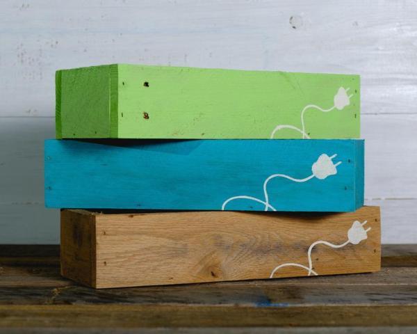 Painted Plug Charging Box