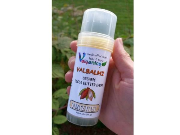 Unscented Organic Cocoa Butter Balm