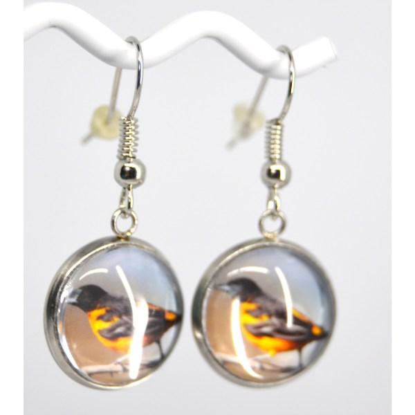 Oriole earrings