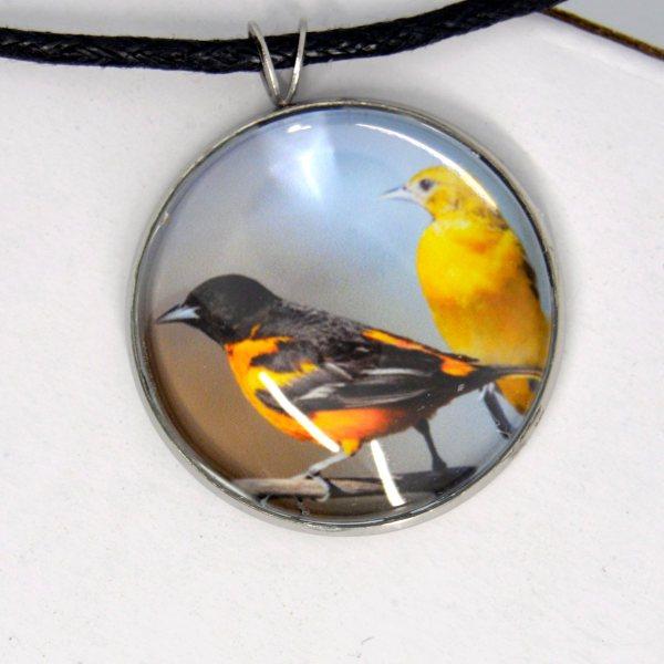 Oriole necklace