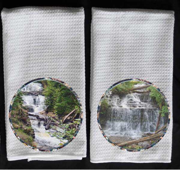 Sable waterfalls towel Wagner waterfalls towel