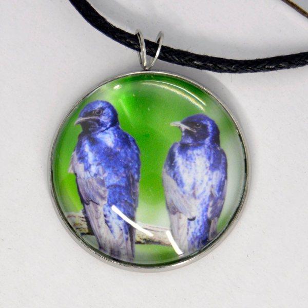 purple martin necklace