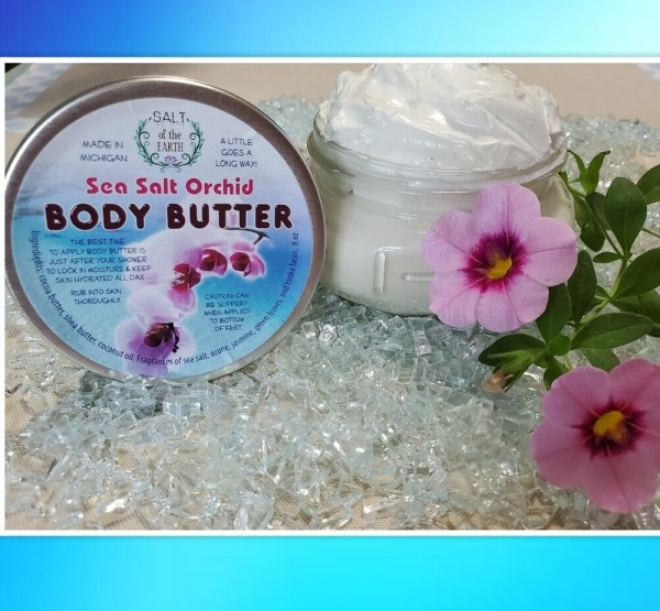 Body Butter Sea Salt Orchid