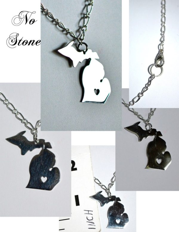 Michigan Necklace No Stone