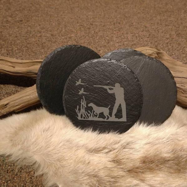 Hunter Slate Coaster