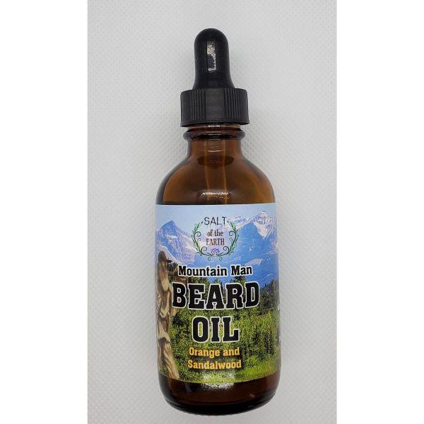 Mountain Man Soothing Beard Oil