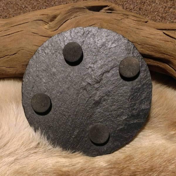 Slate Stone Coaster Bottom