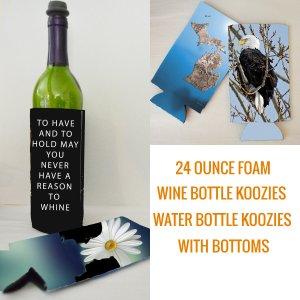 Wine Water Bottle Koozie