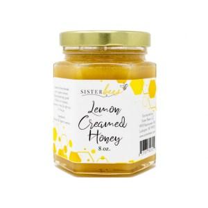 Lemon Creamed Honey Raw All Natural