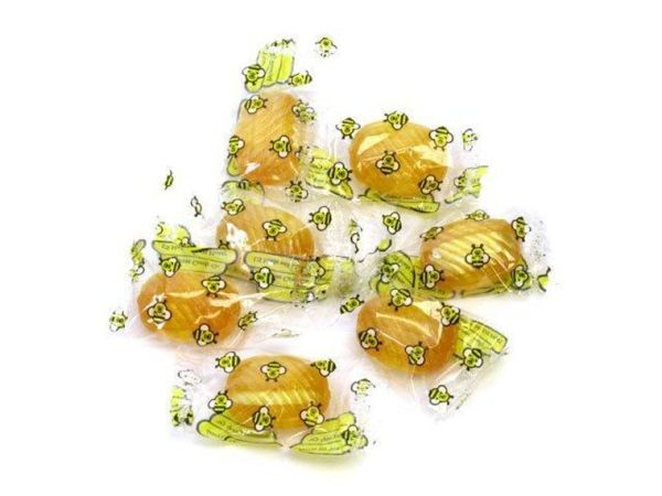 Individually Wrapped Sweet Bee Double Honey Filled Hard Candy