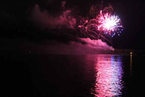 Muscatine 4th of July fireworks