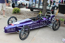 Muscatine Soapbox Derby 2016 Creations by Oz car