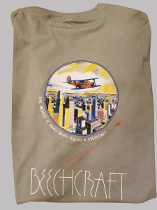 Picture of an Art Deco-inspired museum t-shirt