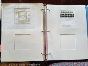 Harold Gordon's practice book of stitches