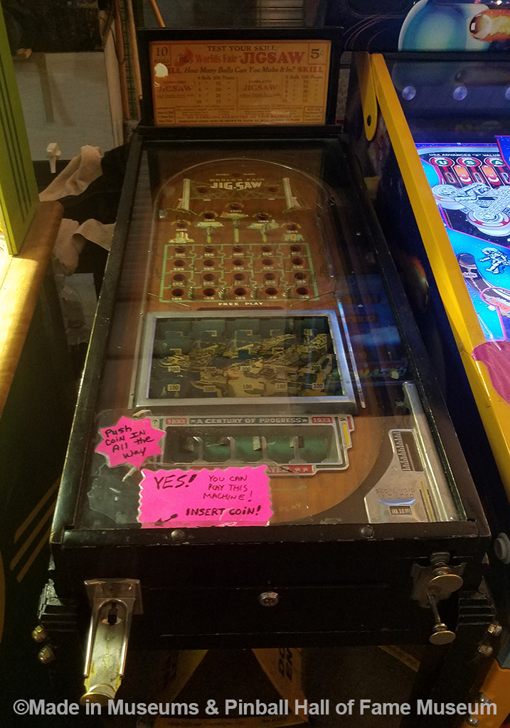 The 1933 countertop game that was the original pinball game
