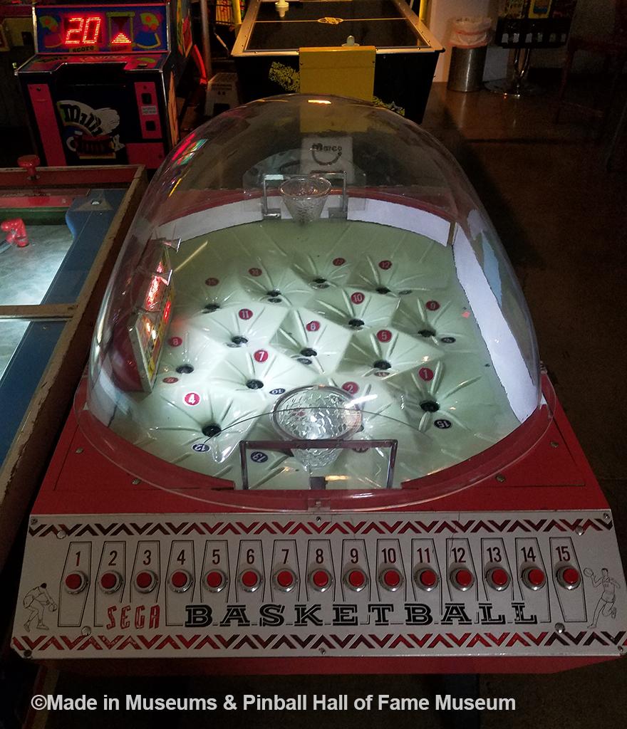SEGA basketball game
