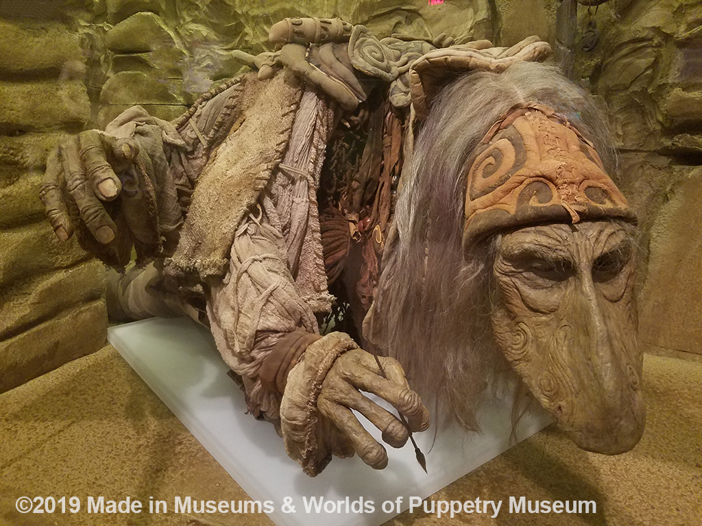 A Mystic (kind wizards) from The Dark Crystal.