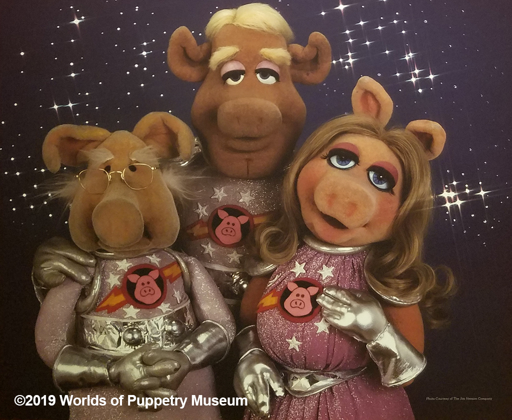 Miss Piggy in the Pigs in Space skit from The Muppet Show