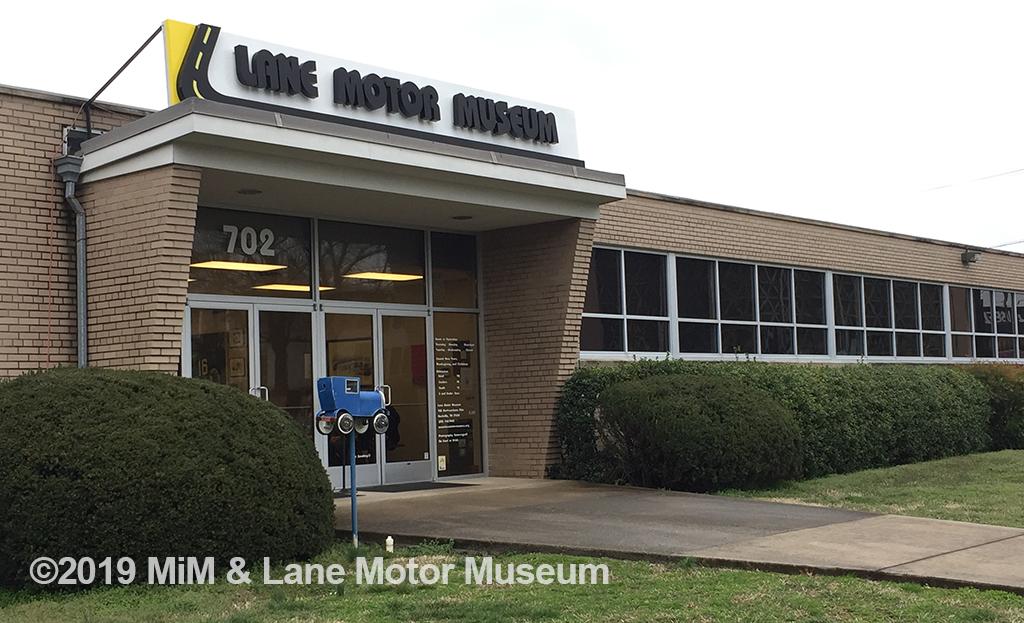 Lane Motor Museum building