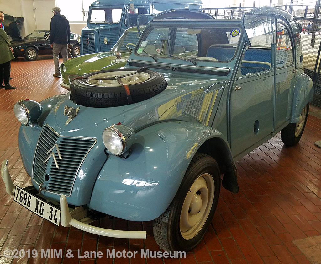 The 2CV is an iconic French car originally designed to replace a farmer's horse and cart