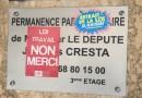 Après la permanence de Jacques Cresta occupée, les militants de #NuitDebout Perpignan prennent possession du conseil départemental
