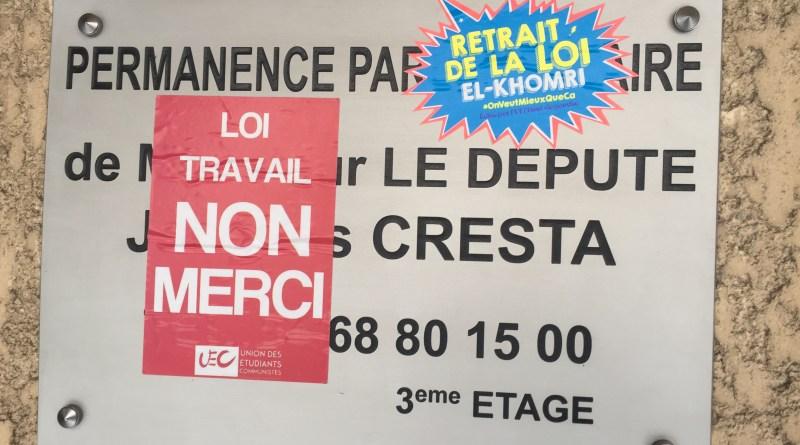 Permanence de Cresta Occupée par Nuit Debout Perpignan