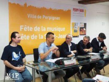 Conférence de Presse Fête de la Musique et Festa Major