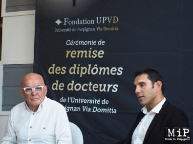 Conférence de presse UPVD-Remise des diplomes